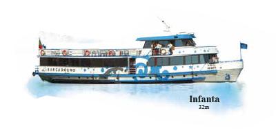 Barco Infanta - Cruzeiros no Douro