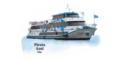 Barco Pirata Azul - Cruzeiros no Douro