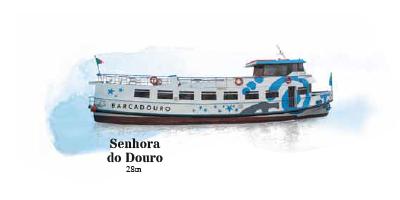 Barco Senhora do Douro - Cruzeiro no Douro